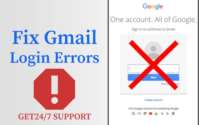 Fix Gmail Login Error