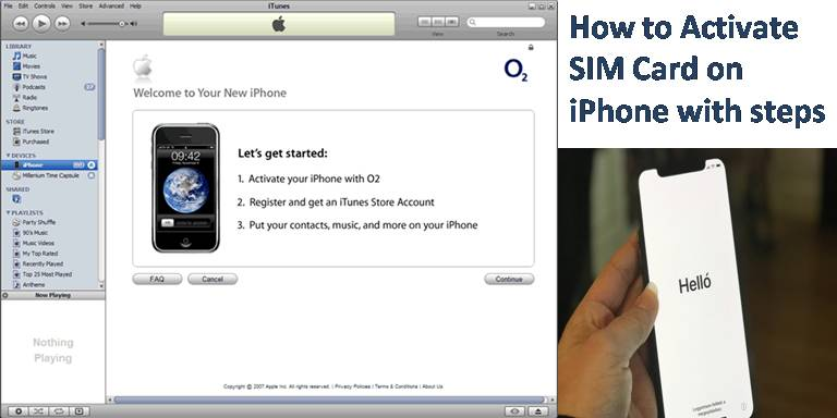 How to Activate SIM Card