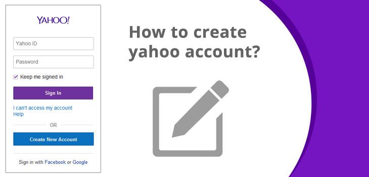 How To Create Yahoo Account, Yahoo Sign Up, Yahoo