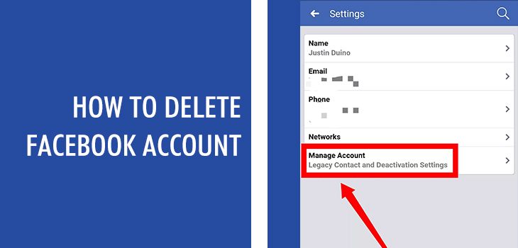 Know How to Delete Facebook Account